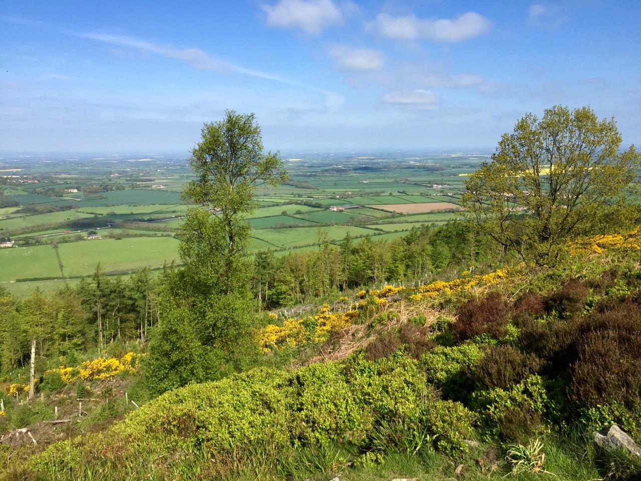 Looking west from Beacon Hill - Uitzicht naar het westen vanaf Beacon Hill