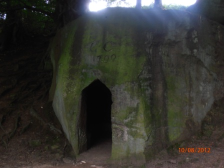 Hermitage near Falling Foss