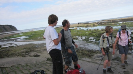 Preparing to liberate our Irish Sea pebbles