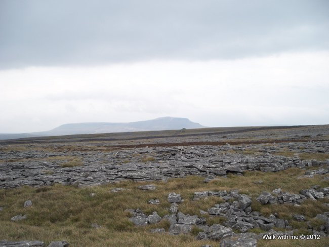 Not sure but that could be Ingleborough in the far distance