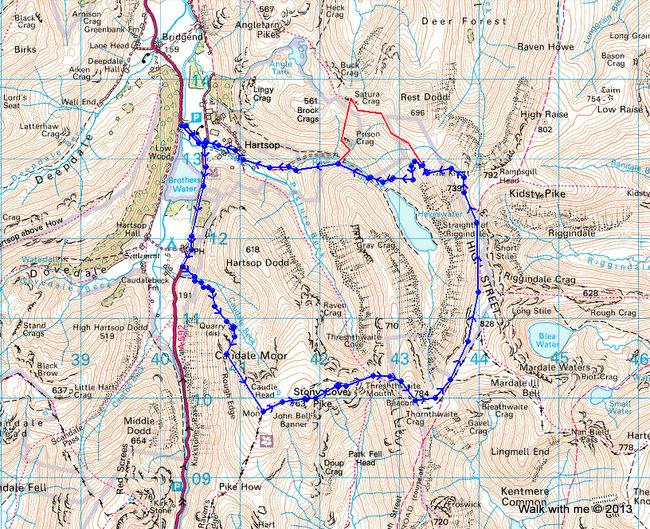 Distance 13.7 km Total ascent 946 m